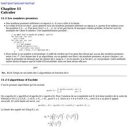 11 Calculer