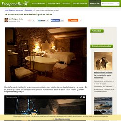 11 casas rurales románticas