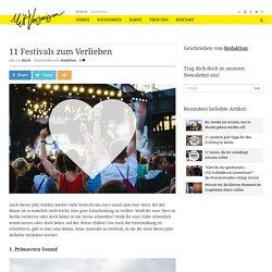 11 Festivals zum Verlieben