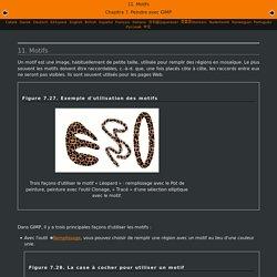 11. Motifs GIMP