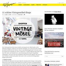11 schöne Vintagemöbel-Shops