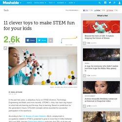 11 toys for teaching kids STEM