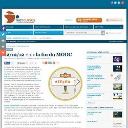 12/12/12 + 1 : la fin du MOOC