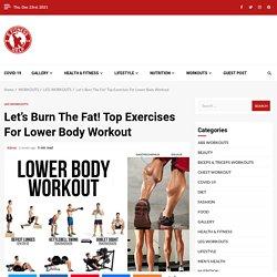 12 Best Lower Body Workout