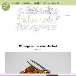12 blogs sur le zéro déchet