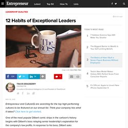 12 Habits of Exceptional Leaders