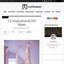 12 Inspirational DIY Ideas