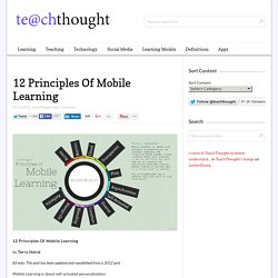 12 Principles Of Mobile Learning
