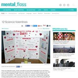 12 Science Valentines