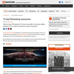 The top 12 Photoshop resources