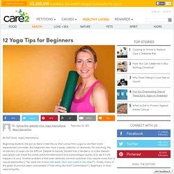 12 Yoga Tips for Beginners