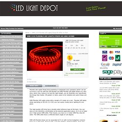 SMD 1210 Flexible LED Lights Strips 60 LEDs 1m Red