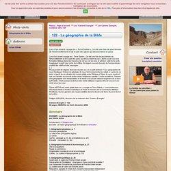122 - La géographie de la Bible