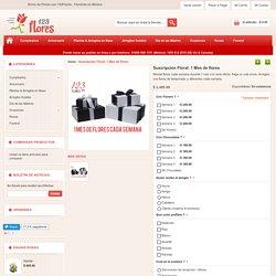 123Flores.com.mx - Suscripción Floral - Un arreglo nuevo a domicilio cada semana en Mexico - Envio a Domicilio en Mexico