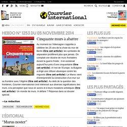 Hebdo n° 1253 du 6 novembre 2014
