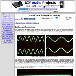 """12AX7 Tube Preamplifier Kit - """"Beauty"""" - Page 2"""