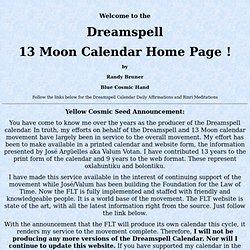 13 Moon Calendar Web Page