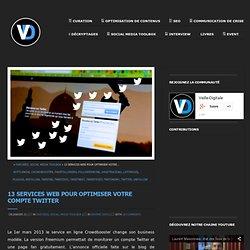 13 services Web pour Twitter
