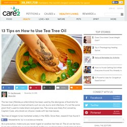 13-tips-on-how-to-use-tea-tree-oil