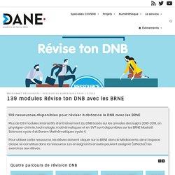 139 modules Révise ton DNB avec les BRNE