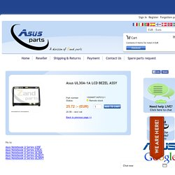 Asus, 13GNWT1AP012-1,Asus UL30A-1A LCD BEZEL ASSY - Asusparts