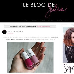 Le Blog de Julia