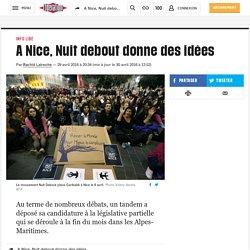 (14) A Nice, Nuit debout donne des idées