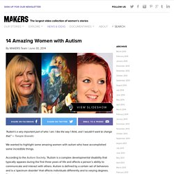 14 Amazing Women with Autism