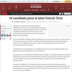 14 candidats pour le label French Tech