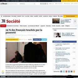 14 % des Français touchés par la pauvreté
