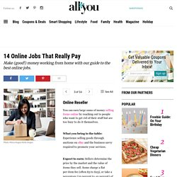 10 Online Jobs That Really Pay