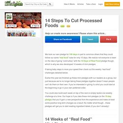 14 Steps To Cut Processed Foods