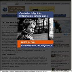 140 000 sans domicile en France
