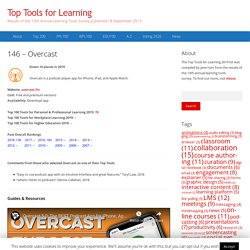 146 – Overcast – Top Tools for Learning