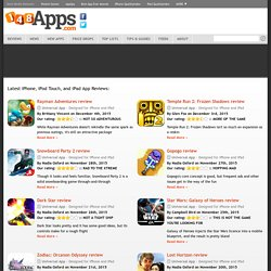 iPhone App Reviews, iPhone Game Reviews, and iPhone News :: 148Apps