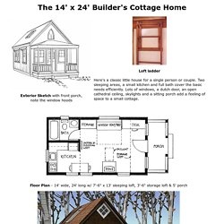 Architectural plans pearltrees for 14x24 cabin plans