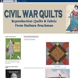 Civil War Quilts: 15 Fort Sumter