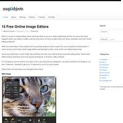 15 Free Online Image Editors