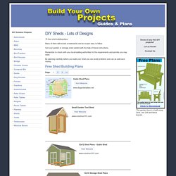 15 Free Shed Building Plans