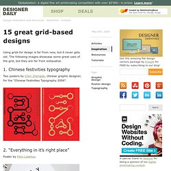 15 great grid-based designs