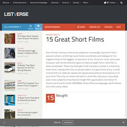 15 Great Short Films