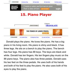 15. Piano Player