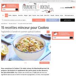 15 recettes minceur pour Cookeo
