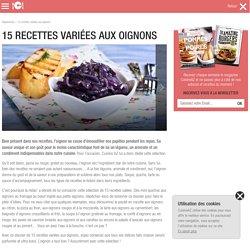 15 recettes variées aux oignons