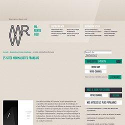 15 sites minimalistes français