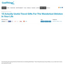 15 Travel Gift Ideas
