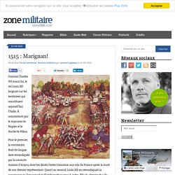 1515 : Marignan!