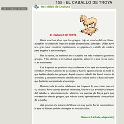 155 - EL CABALLO DE TROYA