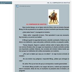 156 - EL COMPRADOR DE GRATITUD