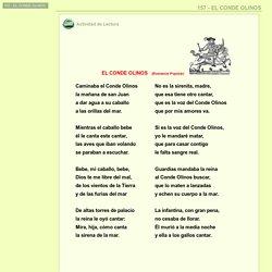 157 - EL CONDE OLINOS